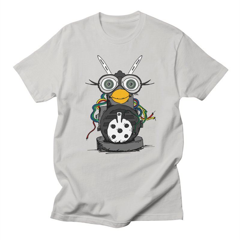 Bent Fur-bot Women's Regular Unisex T-Shirt by Children's Telepathic Workshop