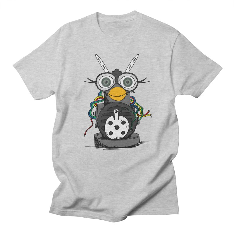 Bent Fur-bot Men's Regular T-Shirt by Children's Telepathic Workshop