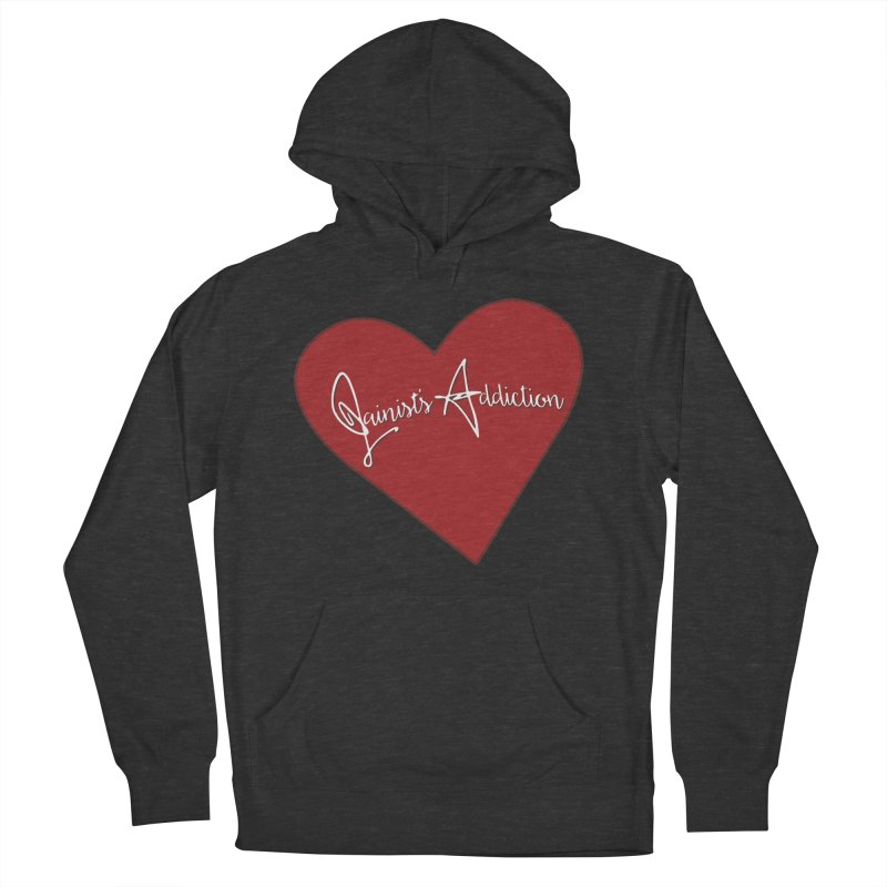 Jainist's Addiction Women's French Terry Pullover Hoody by Children's Telepathic Workshop