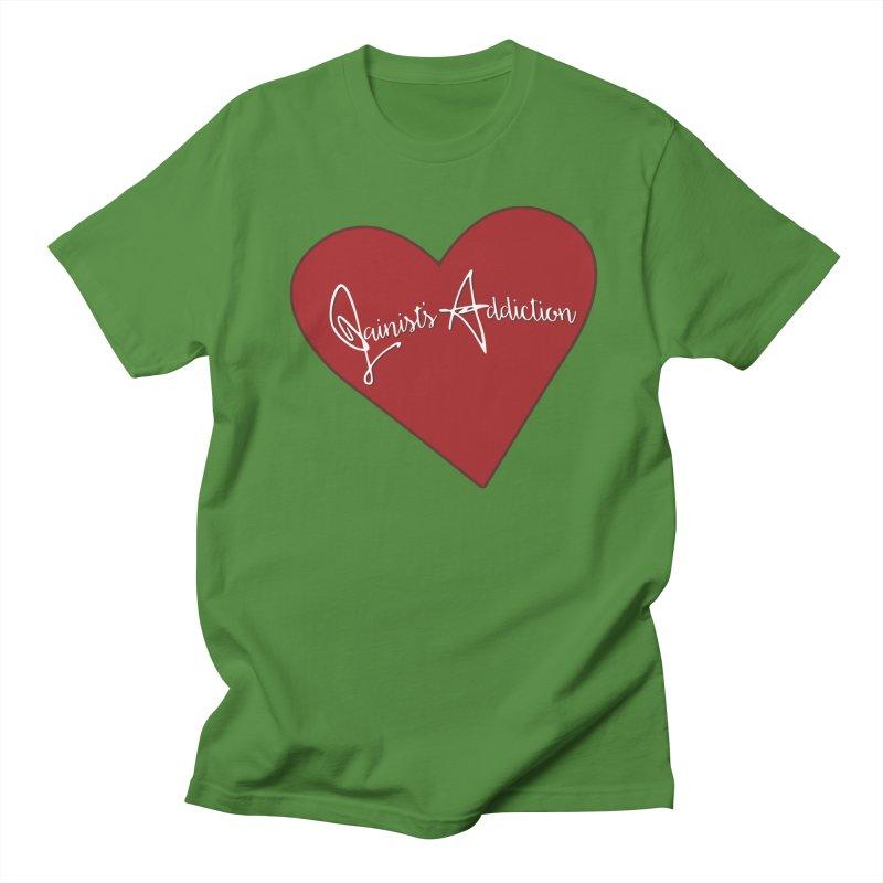 Jainist's Addiction Men's Regular T-Shirt by Children's Telepathic Workshop