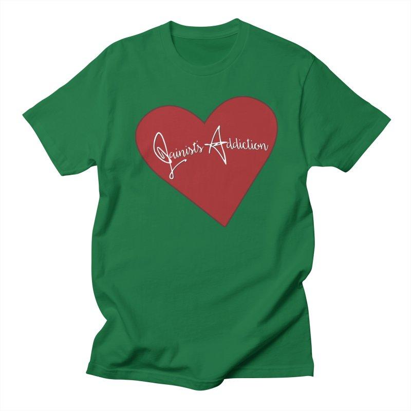 Jainist's Addiction Women's Regular Unisex T-Shirt by Children's Telepathic Workshop