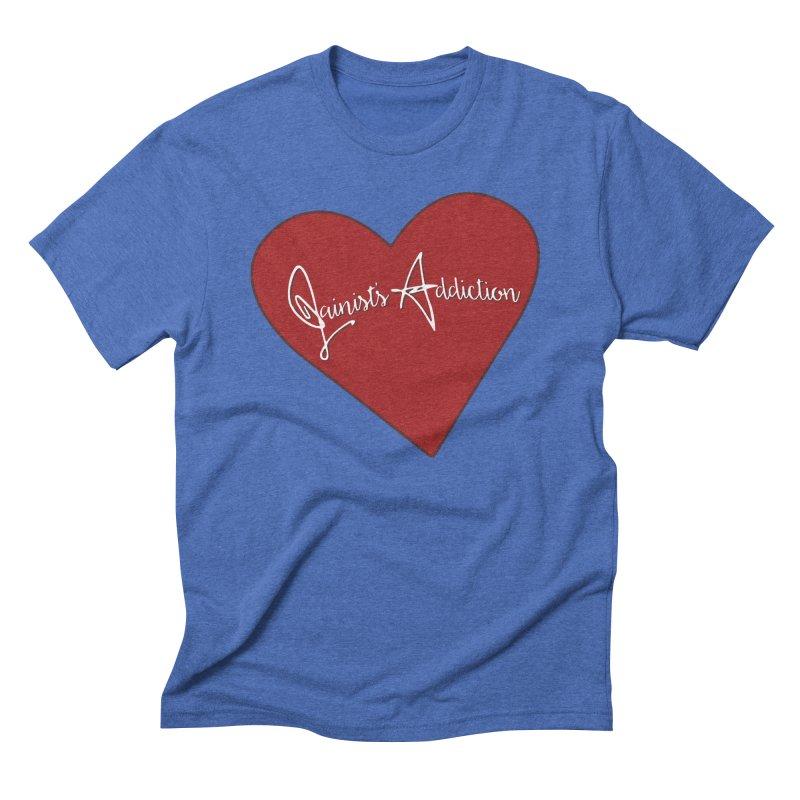 Jainist's Addiction Men's Triblend T-Shirt by Children's Telepathic Workshop