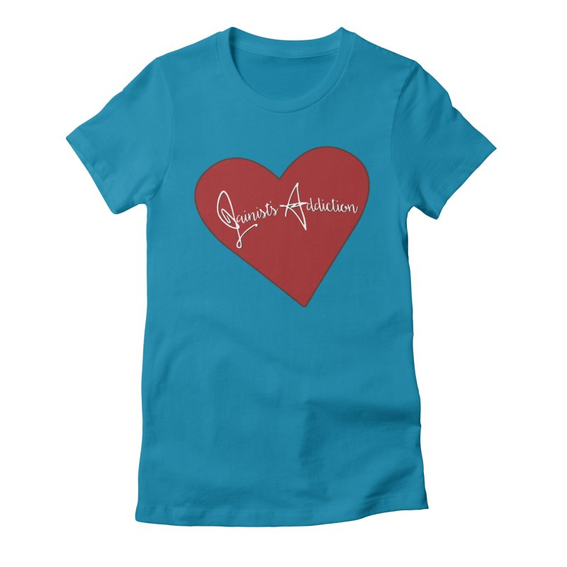 Jainist's Addiction Women's Fitted T-Shirt by Children's Telepathic Workshop