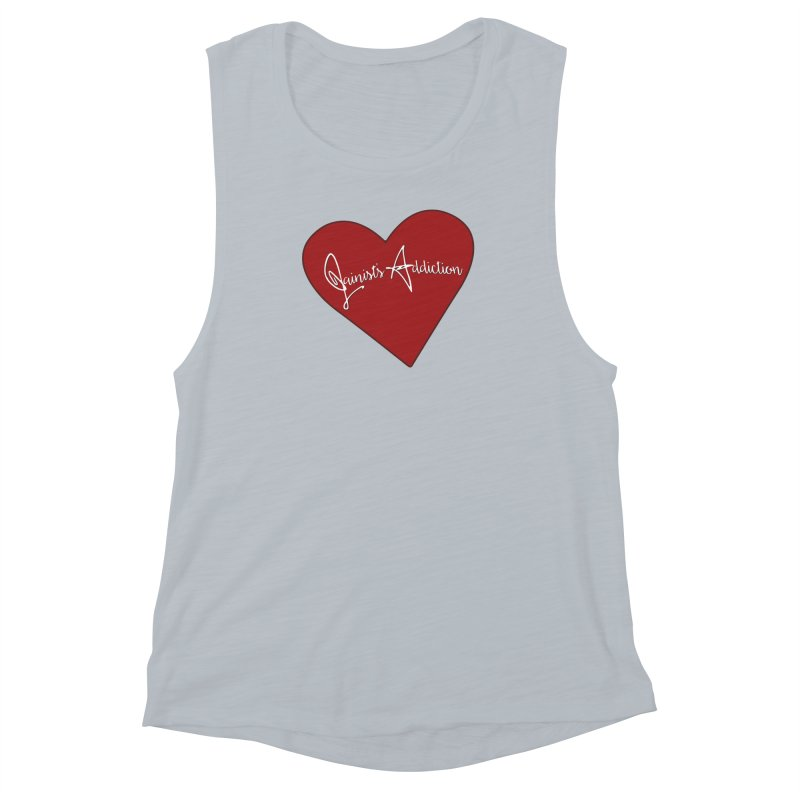 Jainist's Addiction Women's Muscle Tank by Children's Telepathic Workshop