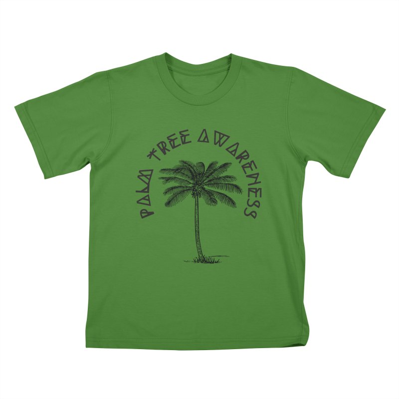 Palm Tree Awareness ( Logo - Black) Kids  by Children's Telepathic Workshop