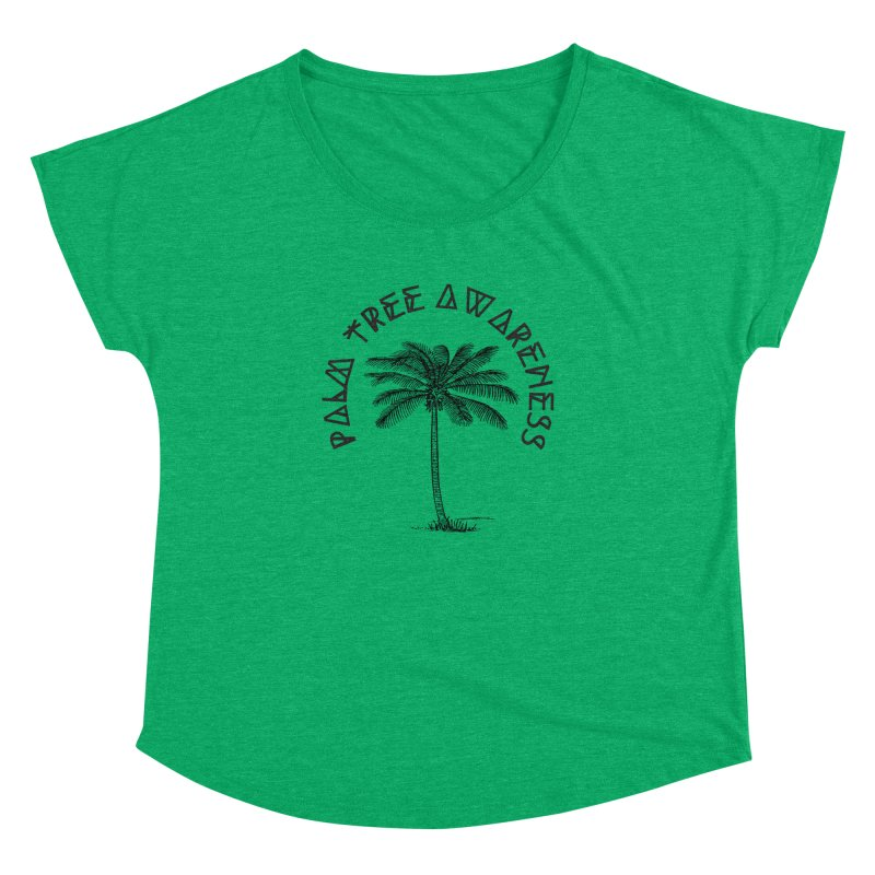 Palm Tree Awareness ( Logo - Black) Women's  by Children's Telepathic Workshop