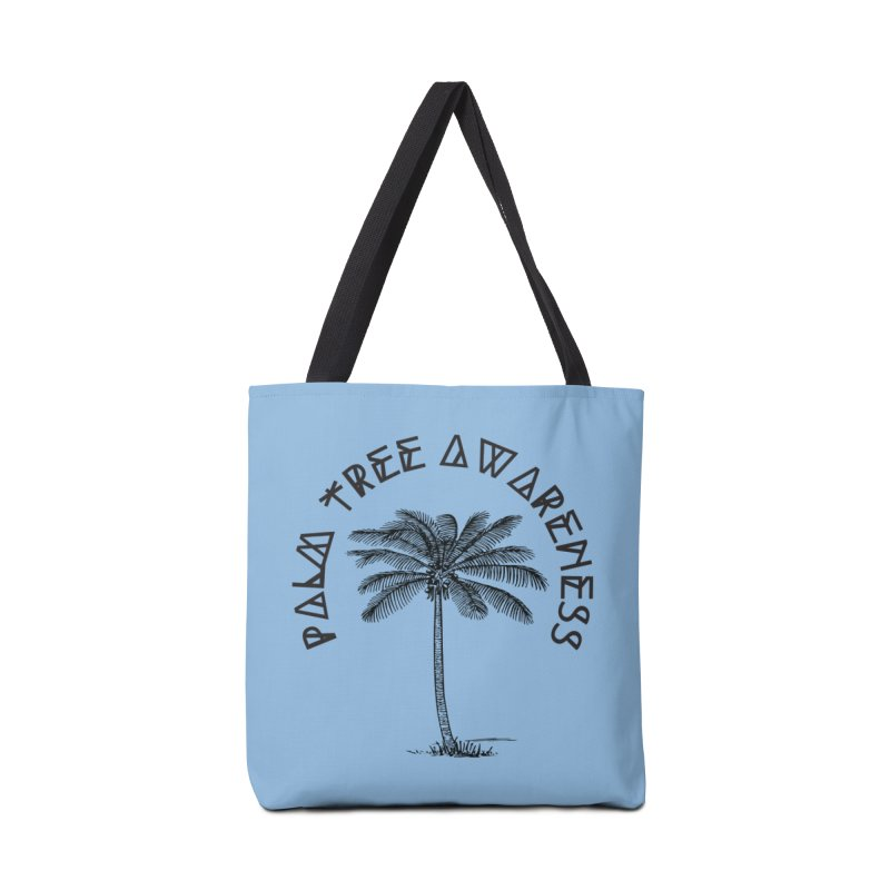 Palm Tree Awareness ( Logo - Black) Accessories Bag by Children's Telepathic Workshop