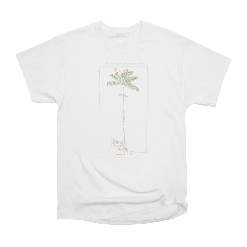 Euterpe Catinga (Palm Tree Awareness) Men's Heavyweight T-Shirt by Children's Telepathic Workshop