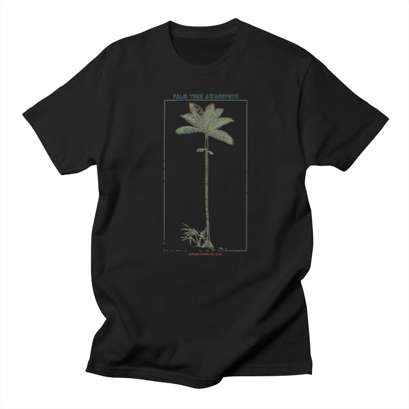 Euterpe Catinga (Palm Tree Awareness) Men's Regular T-Shirt by Children's Telepathic Workshop