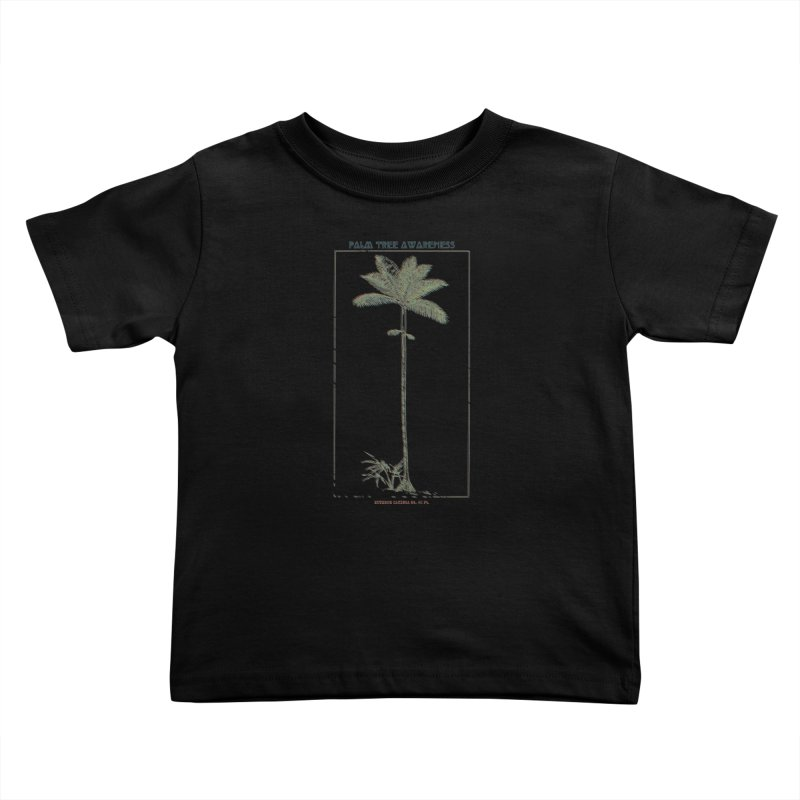 Euterpe Catinga (Palm Tree Awareness) Kids Toddler T-Shirt by Children's Telepathic Workshop