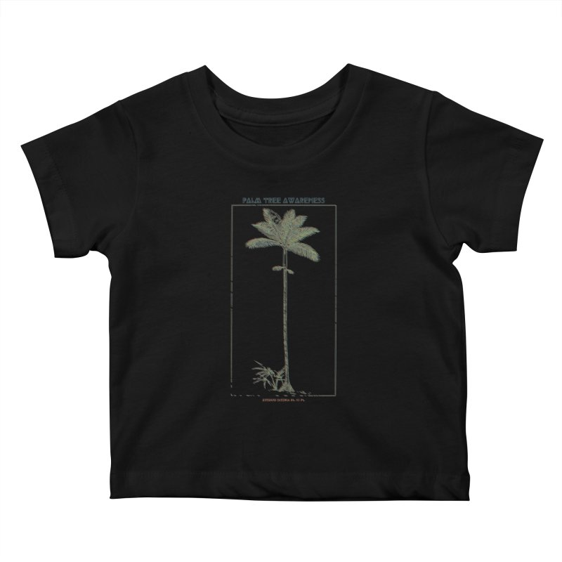 Euterpe Catinga (Palm Tree Awareness) Kids Baby T-Shirt by Children's Telepathic Workshop