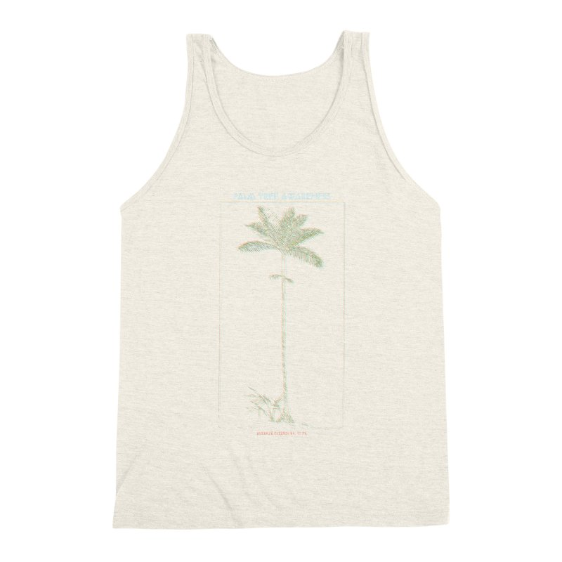 Euterpe Catinga (Palm Tree Awareness) Men's Triblend Tank by Children's Telepathic Workshop