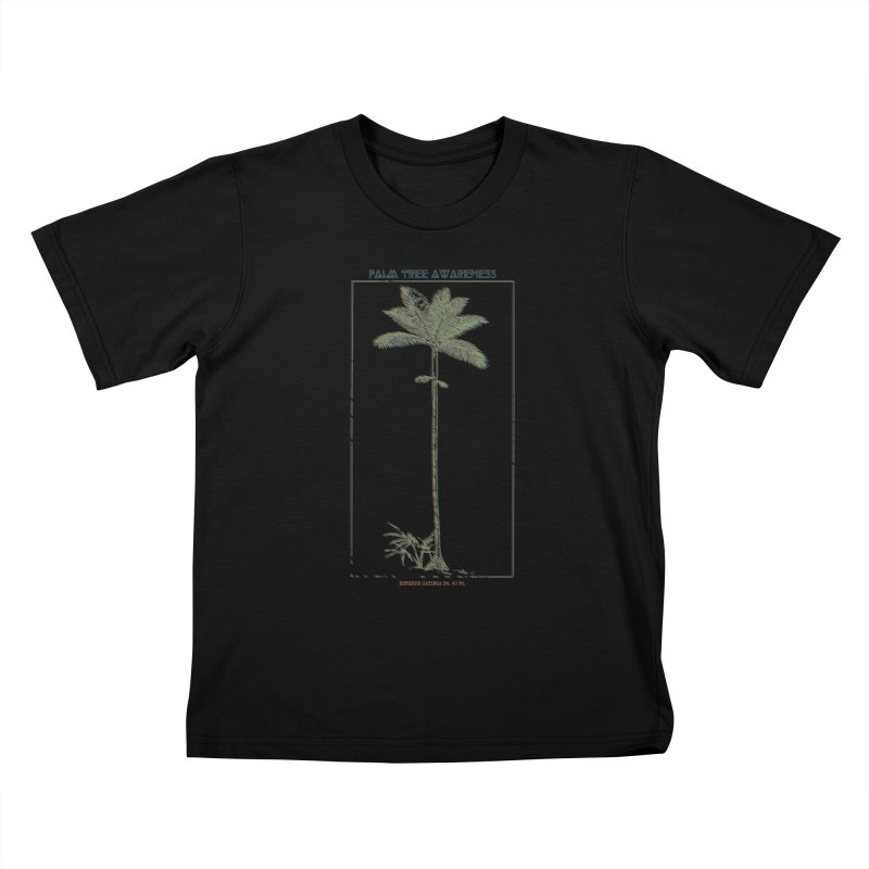 Euterpe Catinga (Palm Tree Awareness) Kids T-Shirt by Children's Telepathic Workshop
