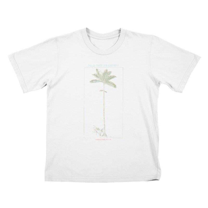 Euterpe Catinga (Palm Tree Awareness) Kids T-Shirt by Children's Telepathic Workshop