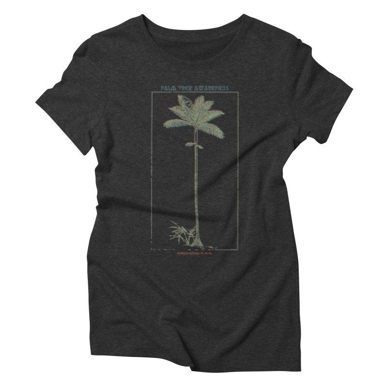 Euterpe Catinga (Palm Tree Awareness) Women's Triblend T-Shirt by Children's Telepathic Workshop