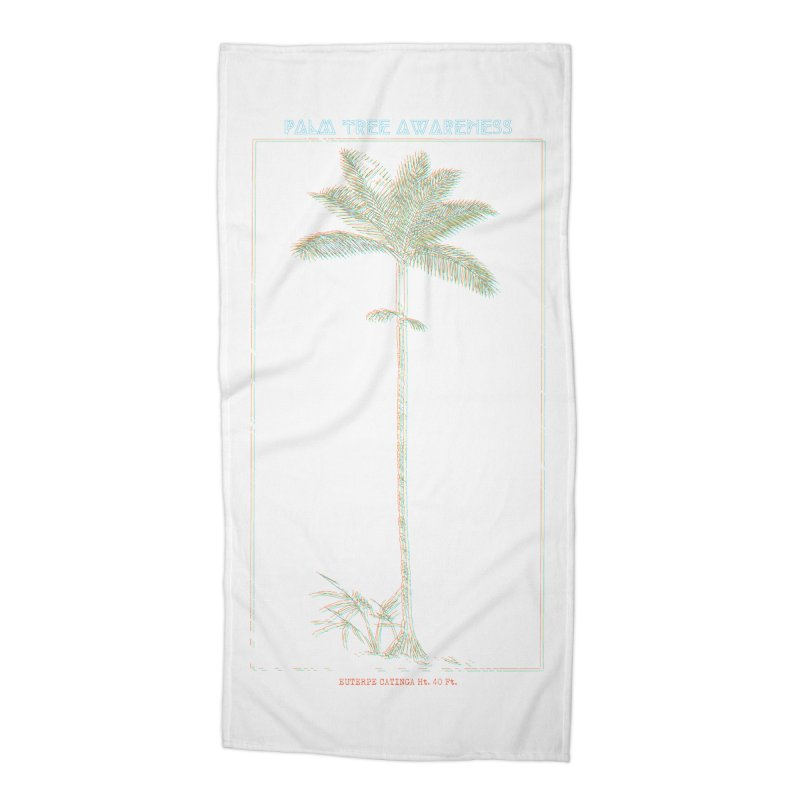 Euterpe Catinga (Palm Tree Awareness) Accessories Beach Towel by Children's Telepathic Workshop