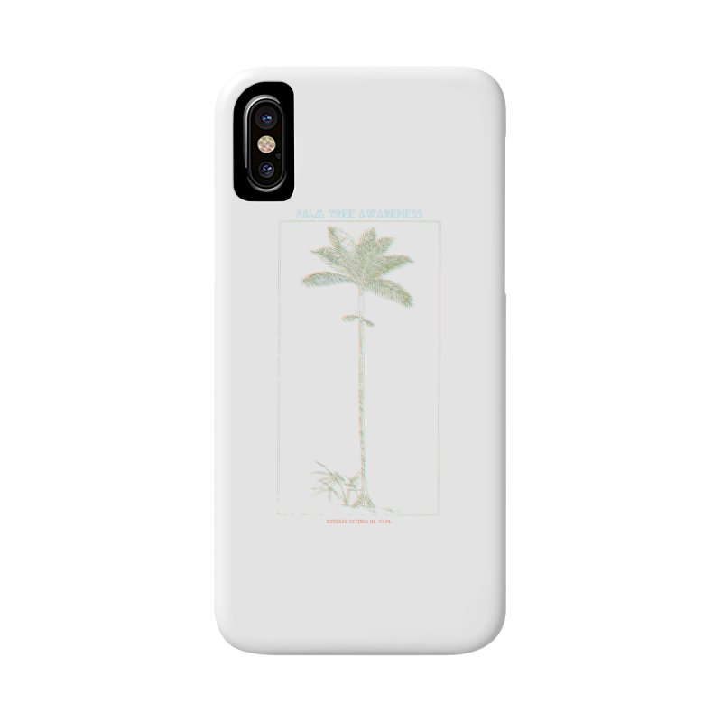 Euterpe Catinga (Palm Tree Awareness) Accessories Phone Case by Children's Telepathic Workshop