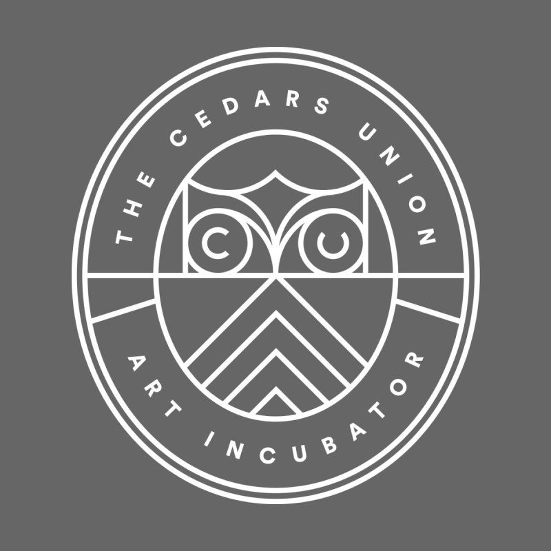 CU Primary Seal - White Men's T-Shirt by Cedars Union
