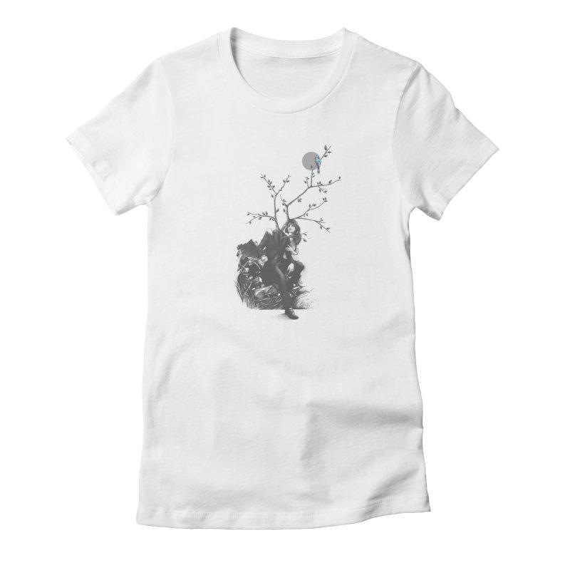 Bluejay Women's T-Shirt by cuban0's Artist Shop