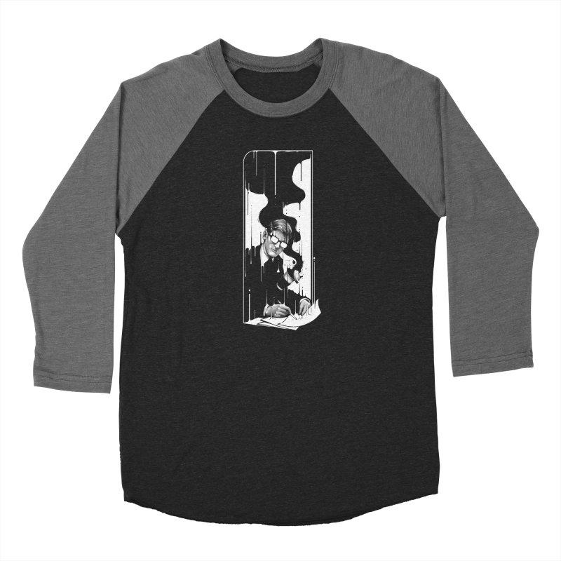 Spilled Men's Baseball Triblend Longsleeve T-Shirt by cuban0's Artist Shop