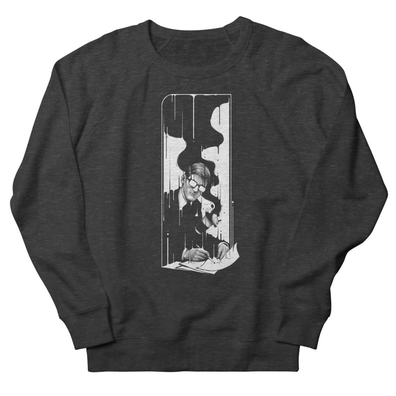 Spilled Men's French Terry Sweatshirt by cuban0's Artist Shop