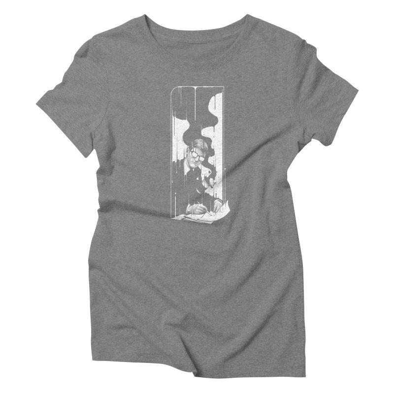 Spilled Women's T-Shirt by cuban0's Artist Shop
