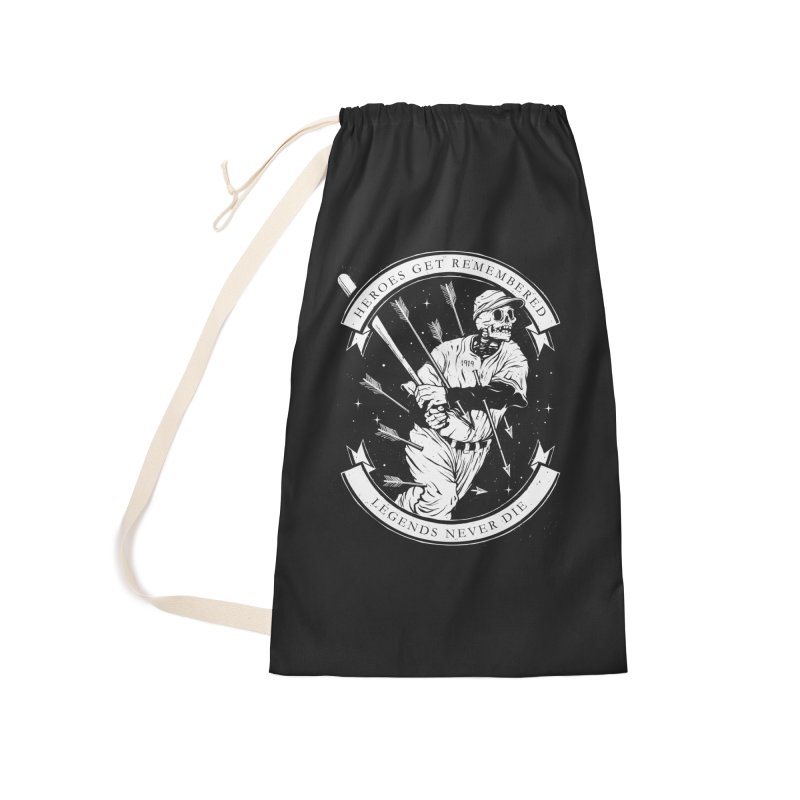 The Legend Accessories Laundry Bag Bag by cuban0's Artist Shop