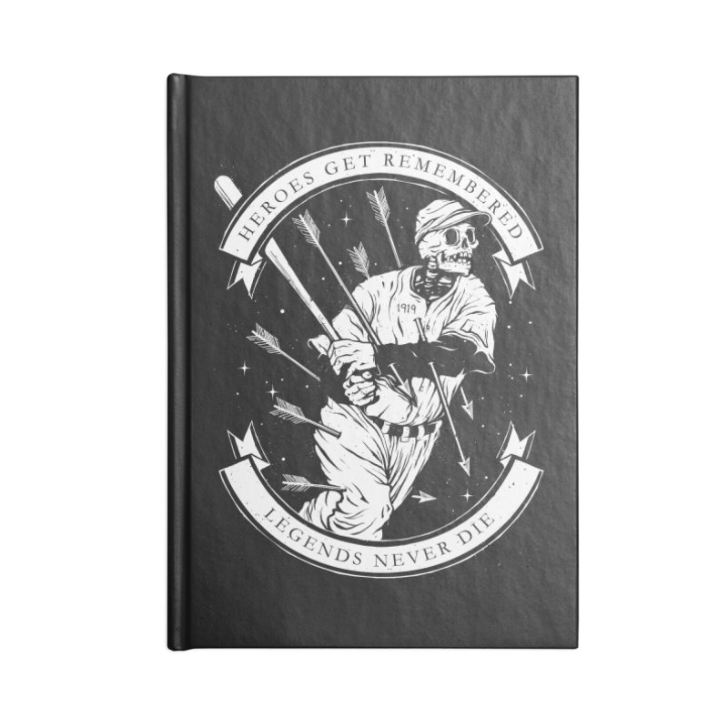 The Legend Accessories Lined Journal Notebook by cuban0's Artist Shop