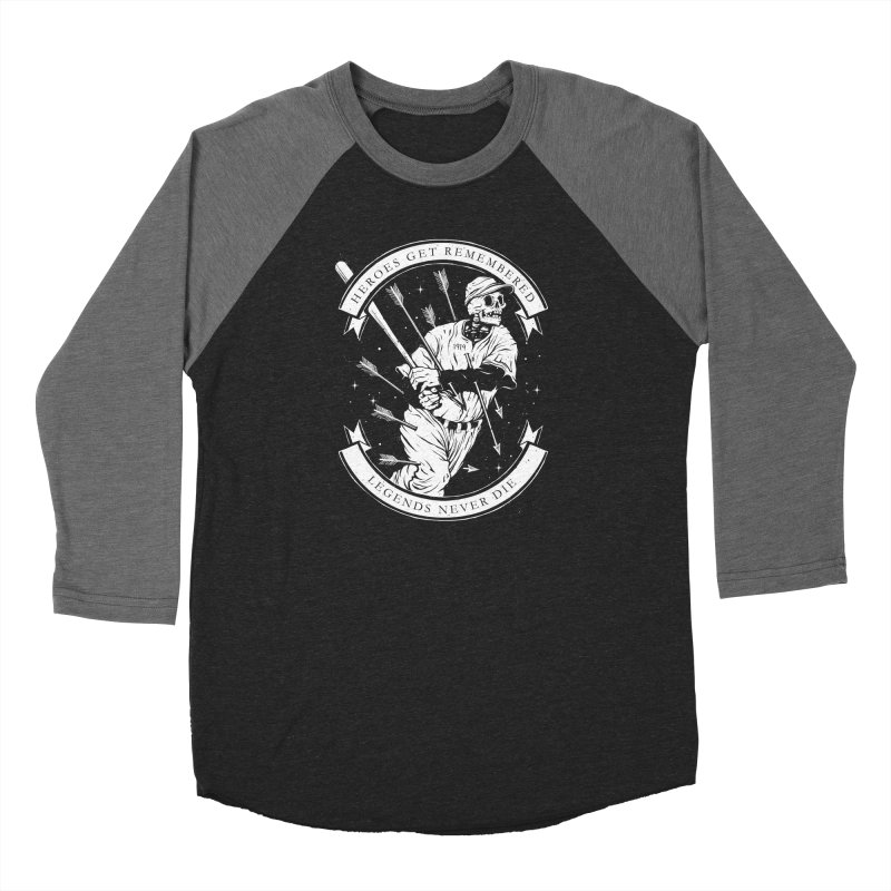 The Legend Men's Baseball Triblend Longsleeve T-Shirt by cuban0's Artist Shop