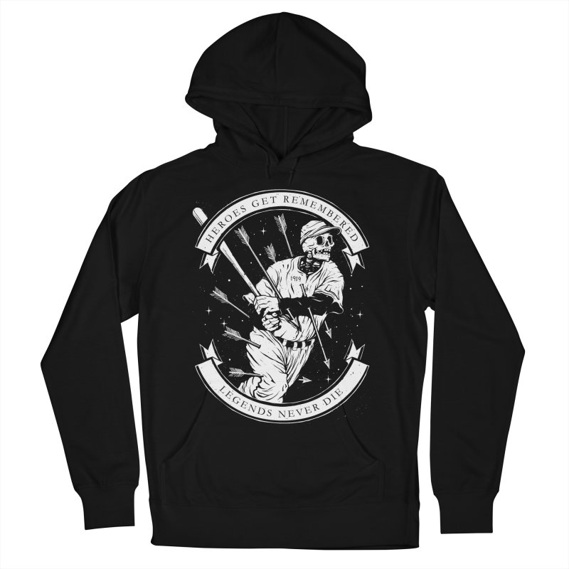 The Legend Women's French Terry Pullover Hoody by cuban0's Artist Shop
