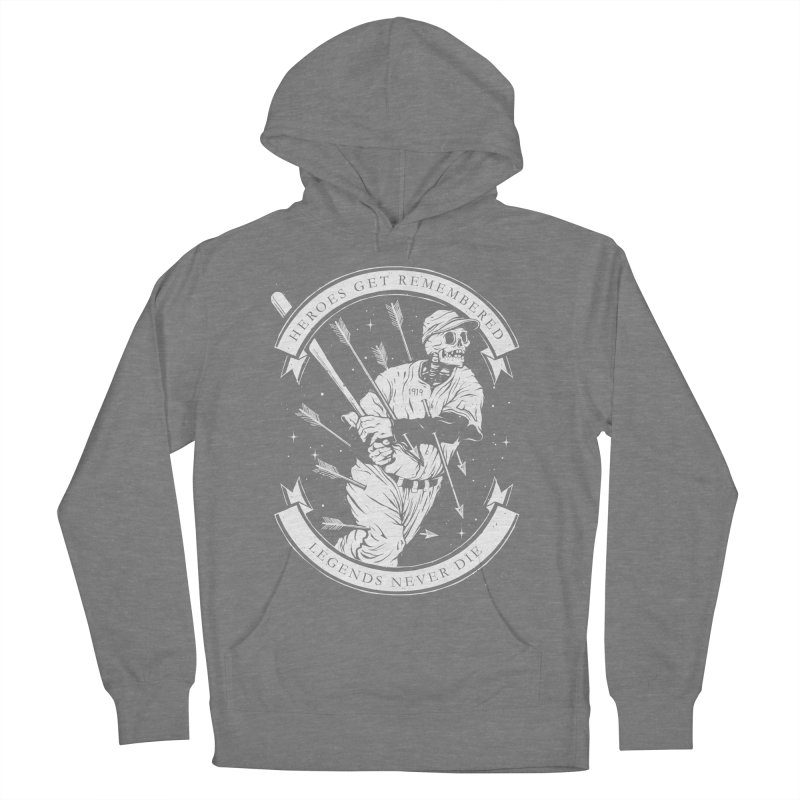 The Legend Men's French Terry Pullover Hoody by cuban0's Artist Shop