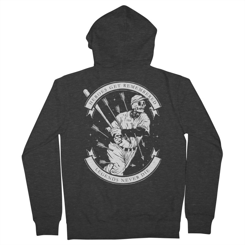 The Legend Women's French Terry Zip-Up Hoody by cuban0's Artist Shop