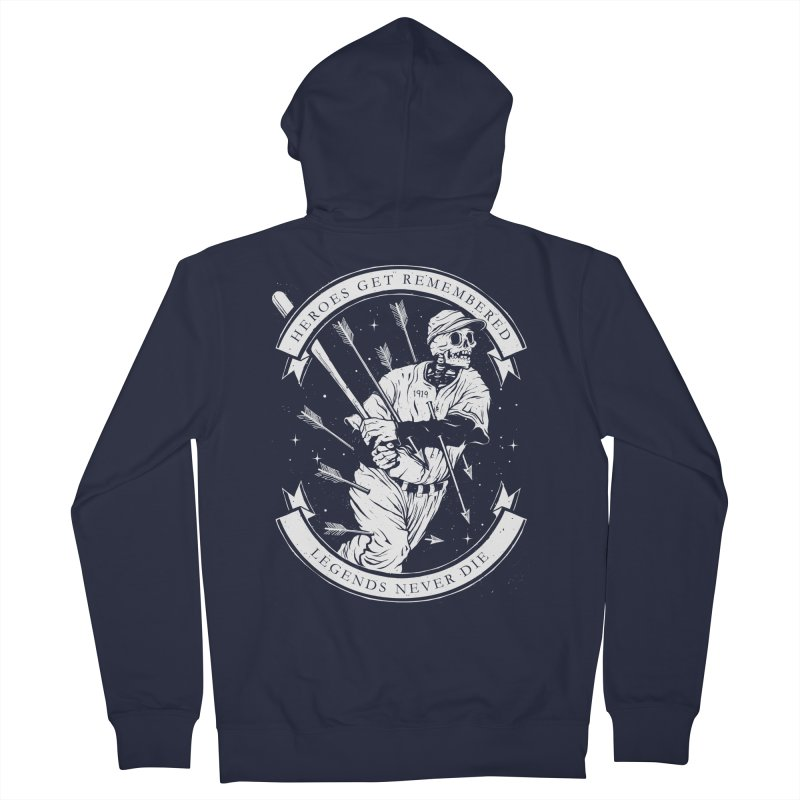 The Legend Women's Zip-Up Hoody by cuban0's Artist Shop