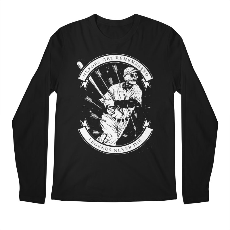 The Legend Men's Regular Longsleeve T-Shirt by cuban0's Artist Shop