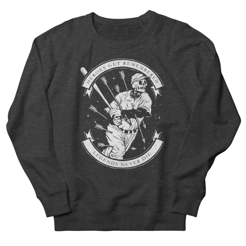 The Legend Women's French Terry Sweatshirt by cuban0's Artist Shop