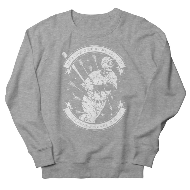 The Legend Men's French Terry Sweatshirt by cuban0's Artist Shop