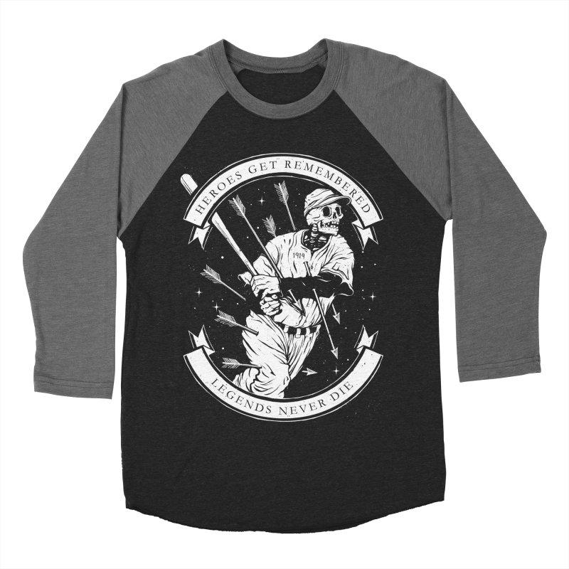 The Legend Men's Baseball Triblend T-Shirt by cuban0's Artist Shop