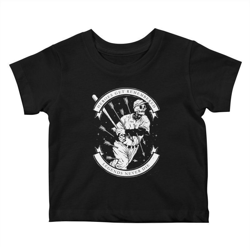 The Legend Kids Baby T-Shirt by cuban0's Artist Shop