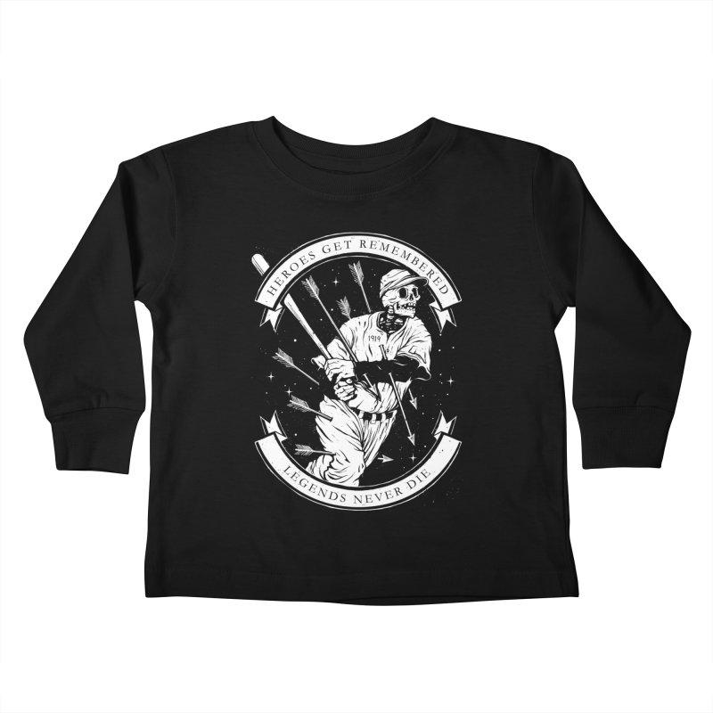 The Legend Kids Toddler Longsleeve T-Shirt by cuban0's Artist Shop