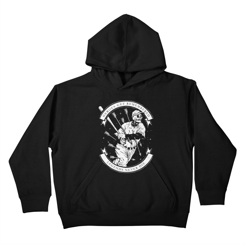 The Legend Kids Pullover Hoody by cuban0's Artist Shop