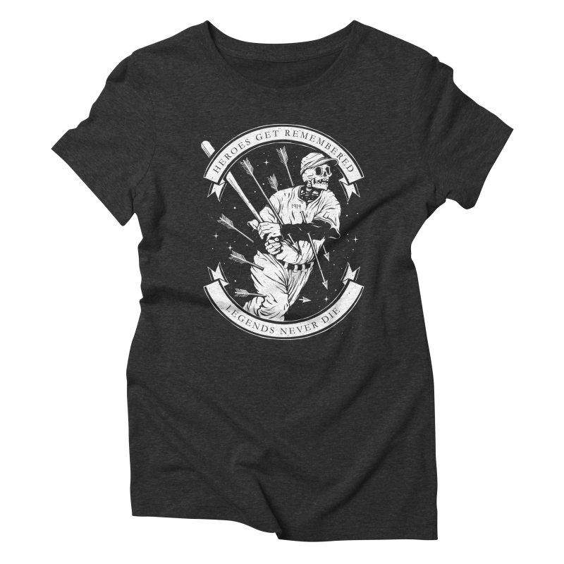 The Legend Women's Triblend T-Shirt by cuban0's Artist Shop