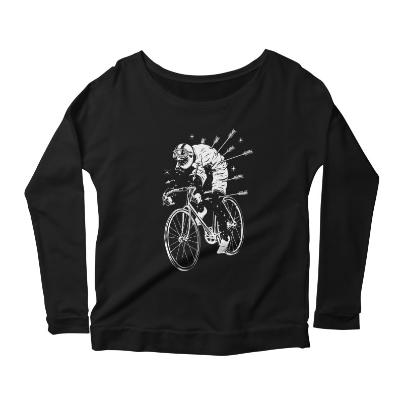 The Commute Women's Scoop Neck Longsleeve T-Shirt by cuban0's Artist Shop