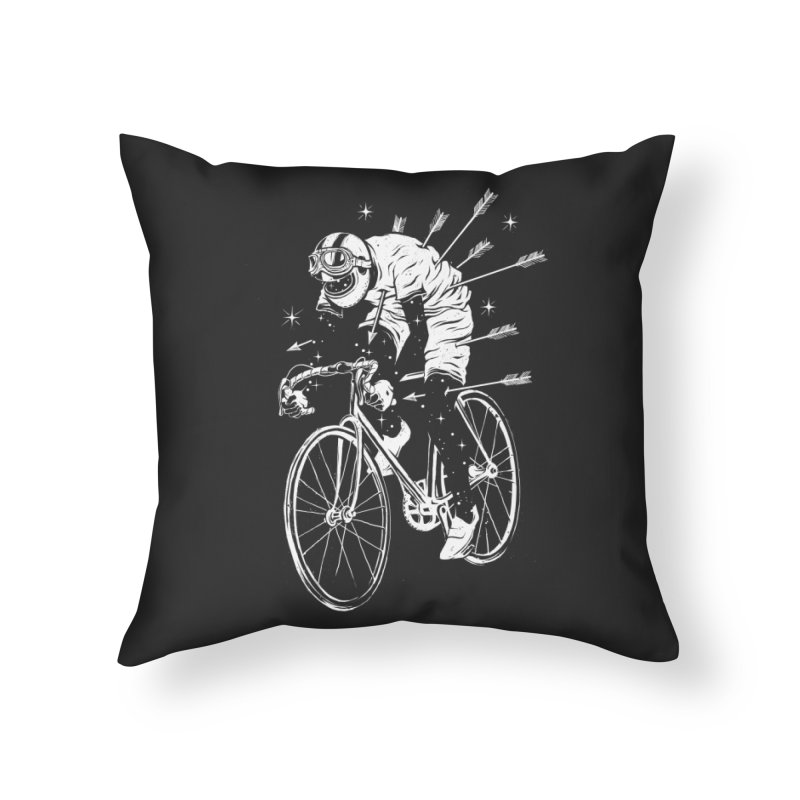 The Commute Home Throw Pillow by cuban0's Artist Shop