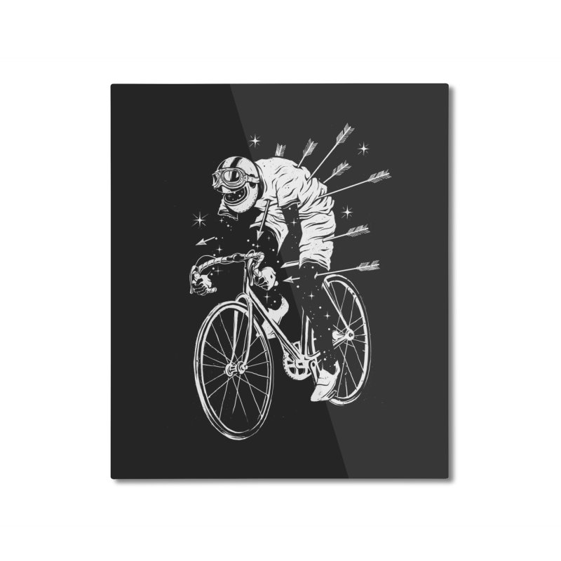 The Commute Home Mounted Aluminum Print by cuban0's Artist Shop