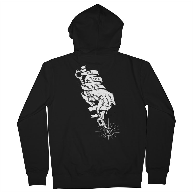 The Hand Men's Zip-Up Hoody by cuban0's Artist Shop