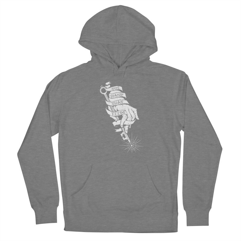 The Hand Men's French Terry Pullover Hoody by cuban0's Artist Shop