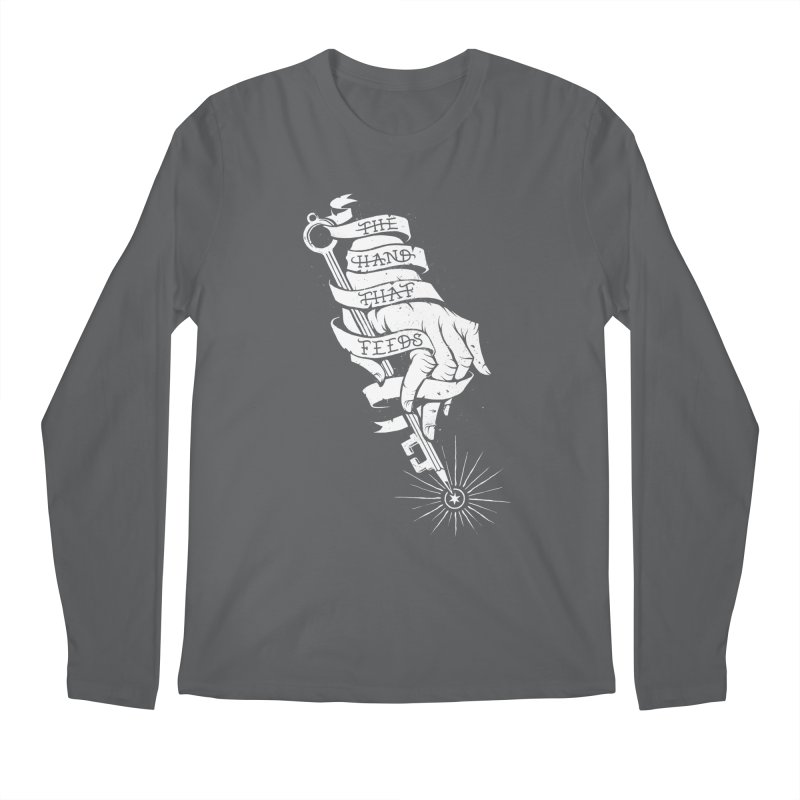 The Hand Men's Regular Longsleeve T-Shirt by cuban0's Artist Shop