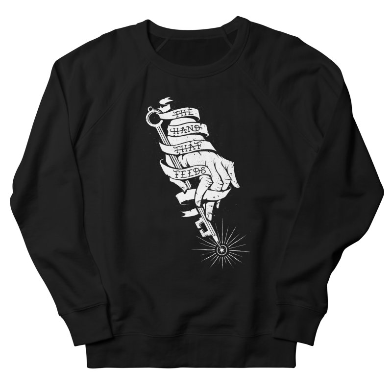 The Hand Women's French Terry Sweatshirt by cuban0's Artist Shop