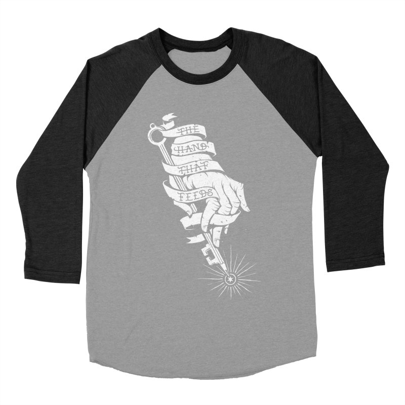 The Hand Women's Baseball Triblend Longsleeve T-Shirt by cuban0's Artist Shop