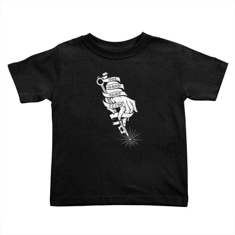 The Hand Kids Toddler T-Shirt by cuban0's Artist Shop